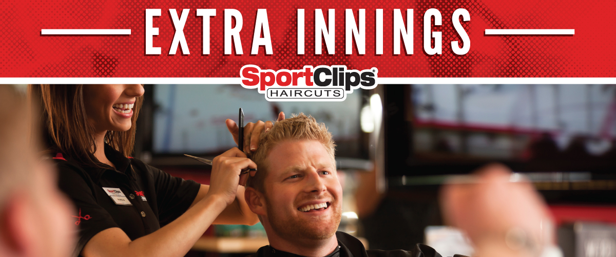 The Sport Clips Haircuts of Palms Crossing Extra Innings Offerings
