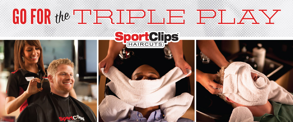 The Sport Clips Haircuts of Palms Crossing Triple Play